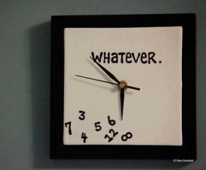 Slacker Clock